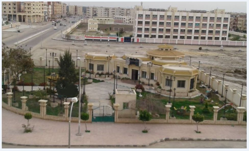 مكتبة مصر العامة بدمياط الجديدة
